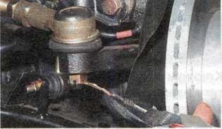 шплинт гайки шарового пальца наконечника Hyundai Accent