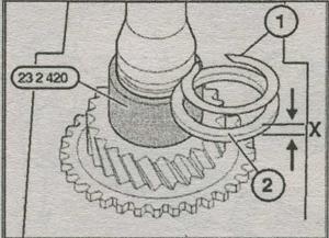 механическая коробка передач BMW 5