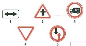 дорожные знаки пдд