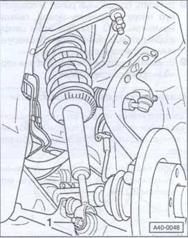 аммортицационная стойка Audi A6