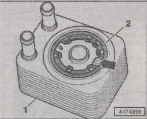 цапфа радиатора Audi A6 Allroad