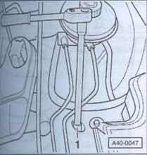 гайка крепления кожуха Audi A6