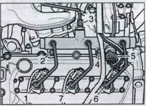 гайки трубопровода Audi A8 / гайки трубопровода Audi S8