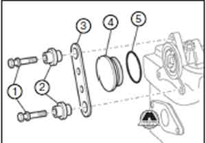 головка блока цилиндров Audi 100