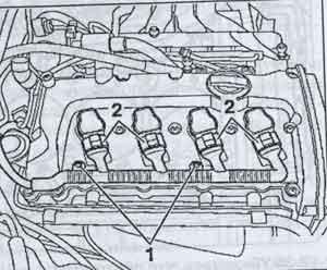 катушка зажигания Audi А4