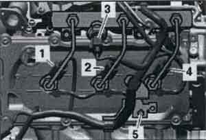 крепления форсунки впрыска Audi A8 / крепления форсунки впрыска Audi S8