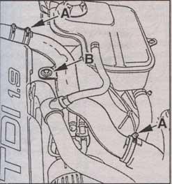 крепление воздушного патрубка Audi A6