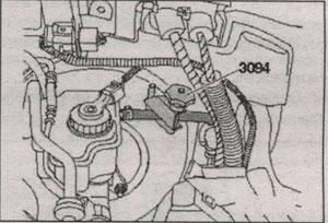 кронштейн воздуховода Audi A3, кронштейн воздуховода Audi A3 Sportbac