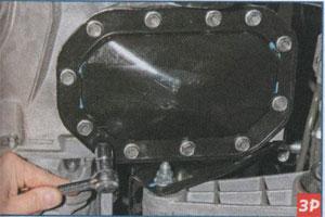 крышка коробки передач Daewoo Gentra