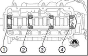 крышка подшипников Audi 100