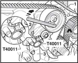 натяжной ролик Audi A6, натяжной ролик A6 Avant
