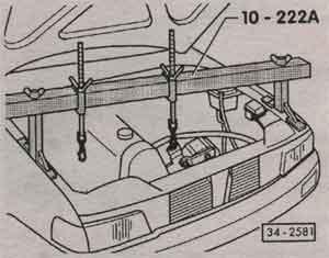 подъёмное приспособление Audi 80