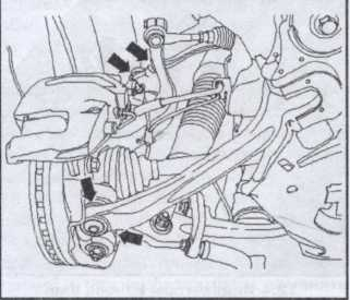пыльники Audi A8, шаровые опоры подвески Audi A8
