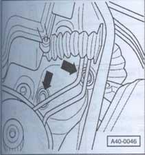 резцовые вставки стрелки кожуха Audi A6