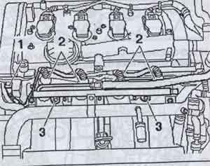 штекеры форсунок Audi А4