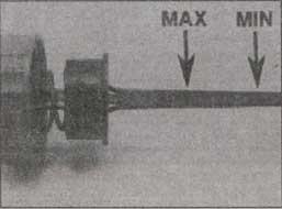 щуп уровня жидкости Audi A6, щуп уровня жидкости Audi 100