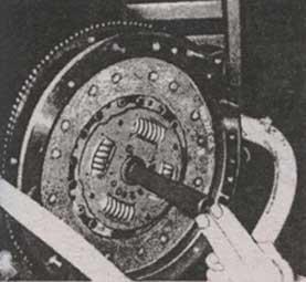 установка диска сцепления Audi 100, центровка диска сцепления Audi 100