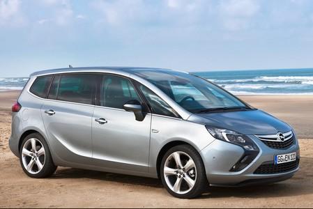автомобиль Opel Zafira new 2011, внешний вид Опель Зафира нью 2011, фото Opel Zafira new 2011