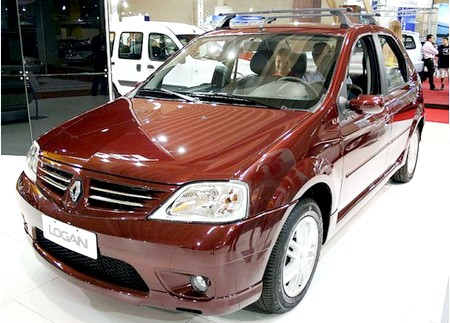 автомобиль Renault Logan New 2012, внешний вид Renault Logan New 2012, фото Renault Logan New 2012