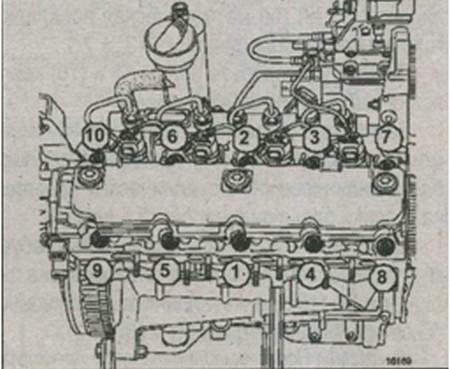 блок цилиндров F9Q и 790 Renault Kangoo