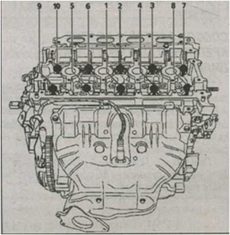 блок цилиндров К4М и 750 или 752 или 753 или 754 Renault Kangoo