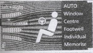 регулировка температуры BMW 7