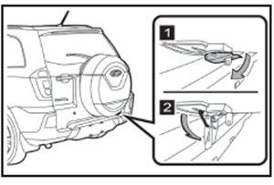 Крышка запасного колеса Chery Tiggo 3