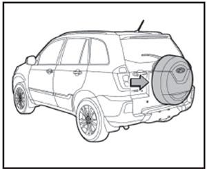 Запасное колесо Chery Tiggo 3