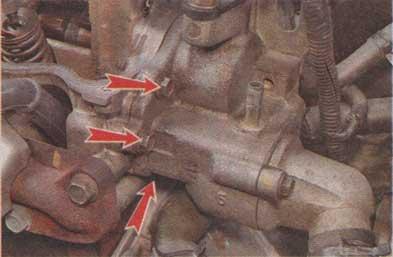 болты системы охлаждения Chevrolet Aveo