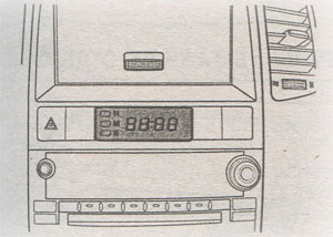 Часы Chevrolet Captiva
