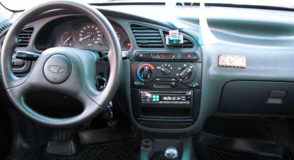 салон Daewoo Lanos, салон Chevrolet Lanos