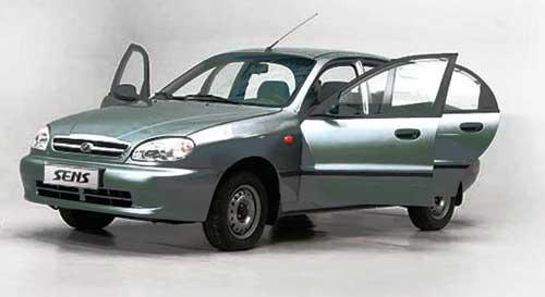 автомобиль Daewoo Sens, автомобиль Chance