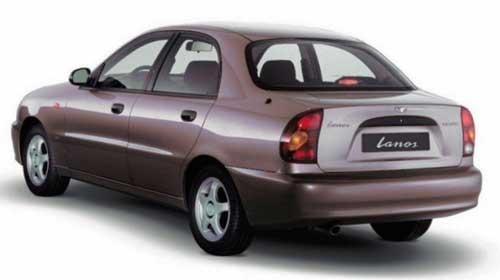 автомобиль Daewoo Lanos, автомобиль Chevrolet Lanos