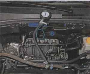 давление топлива Chevrolet Lacetti