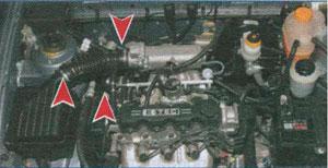 хомуты генератора Chevrolet Lanos