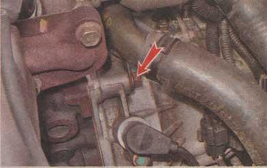 трубка системы охлаждения Chevrolet Aveo