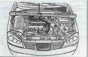 кронштей двигателя Chevrolet Lacetti, кронштей двигателя Daewoo Nubira