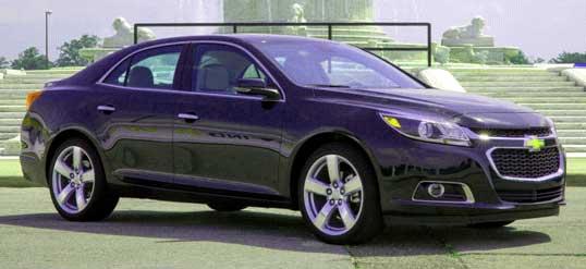 Автомобиль Chevrolet Malibu