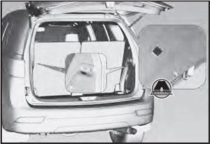 Освещение багажного отделения Chevrolet Trailblazer