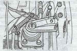 подвеска двигателя Chevrolet Lacetti, подвеска двигателя Daewoo Nubira