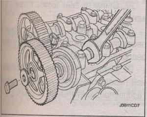 приводной ремень грм Chevrolet Lacetti