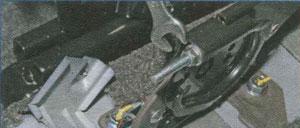 регулировка тормоза Chevrolet Lanos