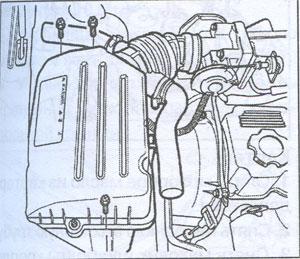 Грязевой щиток Chevrolet Aveo 2002 Форт