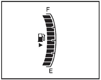 Указатель уровня топлива Ravon R4