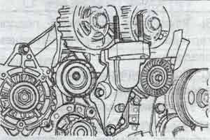 установка двигателя Chevrolet Lacetti, установка двигателя Daewoo Nubira