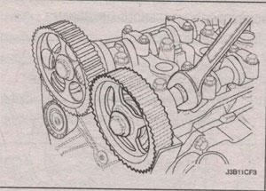 винты головок распредвала Chevrolet Lacetti