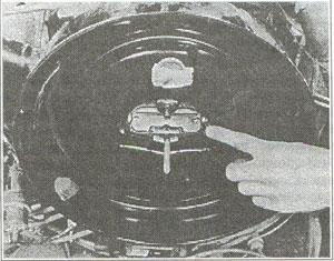 Воздушная заслонка карбюратора Chevrolet Vans 1968 Haynes