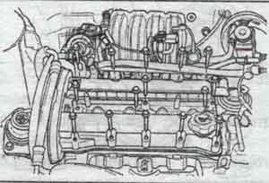впускной распредвал Chevrolet Lacetti, впускной распредвал Daewoo Nubira
