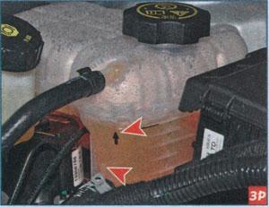 бачок охлаждающей жидкости Chevrolet Cruze