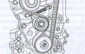 Зубчатый ремень Chevrolet Aveo 200g Форт